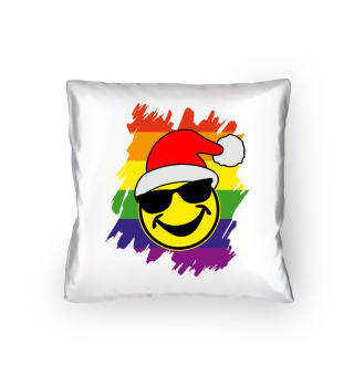 ★ Cool Funny Santa Claus Smiley - LGBT