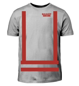 Bauhof Weber Shirt Kinder (Rot)
