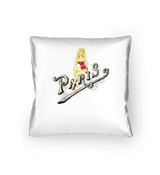 Paris Pinup Girl Vintage Frankreich