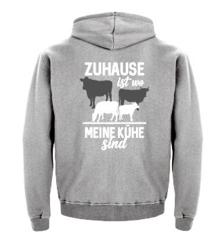 Landwirtschaft - Zuhause ist bei Kühen