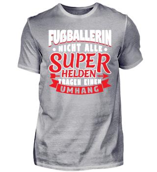 Limitiert Fußballerin Superhelden