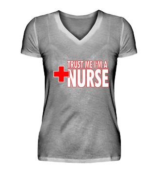 Funny Nurse Shirt - Trust me I'm a nurse