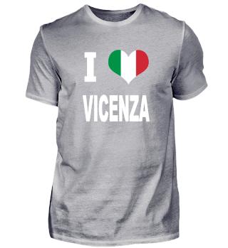 I LOVE - Italy Italien - Vicenza
