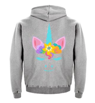 ♥ Cute Unicorn Flower Power Hippie 4