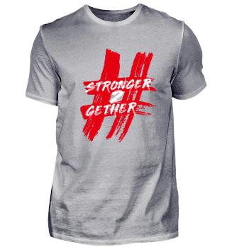 Hashtag T-Shirt Rot