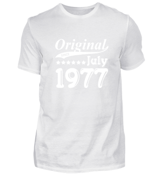 Original Since July 1977