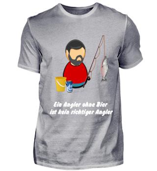 Angeln ohne Bier ist nicht angeln