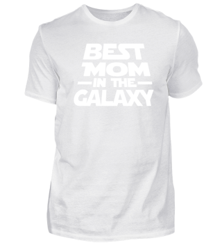 Best Mom In The Galaxy Tee Shirt