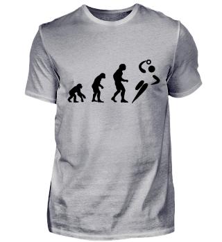 Evolution zum Handballer