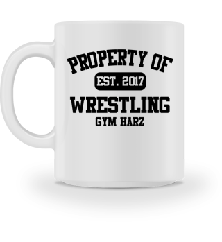 Property Wrestling Gym Tasse