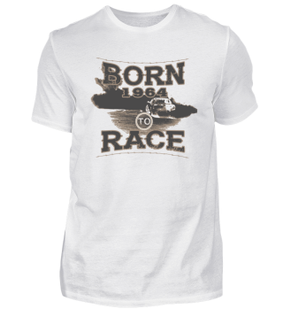 Born to race racer racing tuning 1964