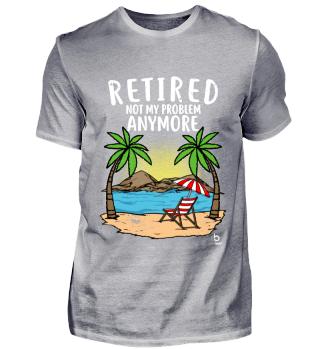 Retired Pension Urlaub Geschenk