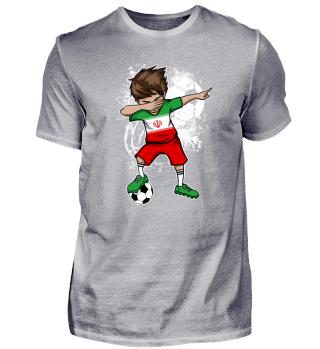 Iran Soccer Boy Dab
