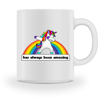 ♥ Dabbing Rainbow Unicorn - amazing