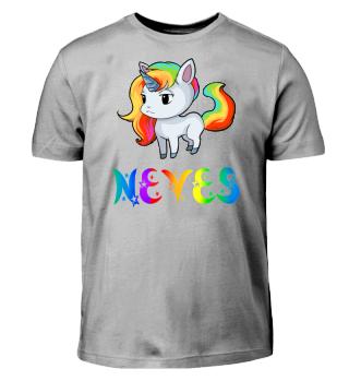 Neves Unicorn Kids T-Shirt