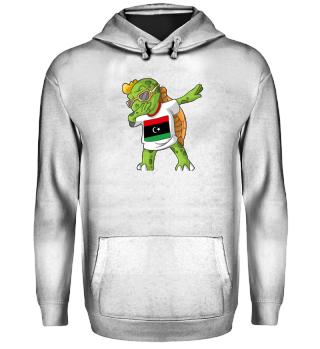 Libyen Dabbing Schildkröte