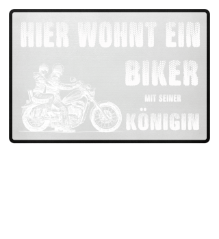 Biker Königin Chopper