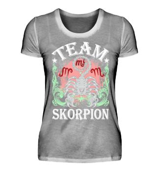 Sternzeichen Team Skorpion