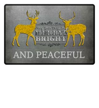 ★ Merry Bright - Vintage Deers IVa