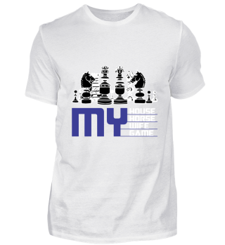 Chess House Horse Lady Game Gift Idea
