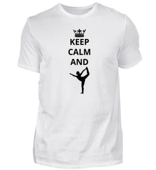 geschenk keep calm and yoga (2)