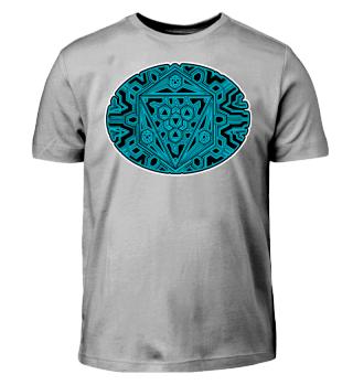 Mandala - Geometrie - oval