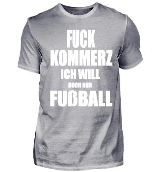 Fußball T-Shirt - Fußball statt Kommerz