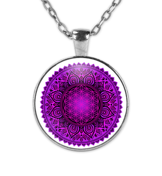 FLOWER OF LIFE Folklore Mandala II KETTE
