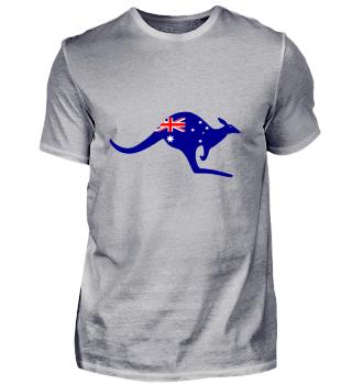 Kangaroo - Australia Flag