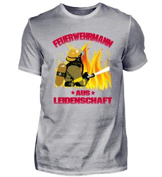 Feuerwehrmann aus Leidenschaft