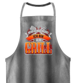 Grillen BBQ Barbecue Geschenk Schürze