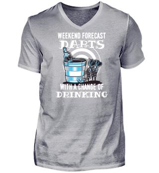 Darts Shirt für Dartspieler Geschenk