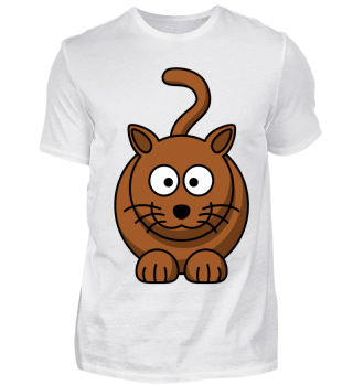 Brown Cat sitting
