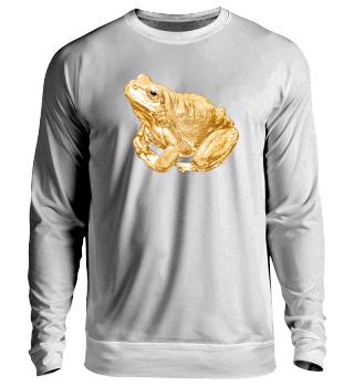 Goldiger Frosch