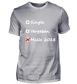 Single - Vergeben - Malle 2018