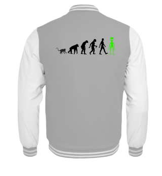 Evolution Of Humans - Green Alien I