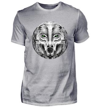 ☛ SCHUTZGEIST · WOLF · KREIS · GRUNGE #4W