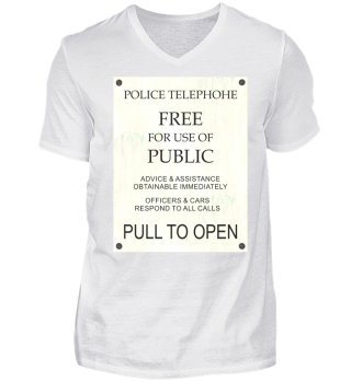 ★ Police Telephone Box Explanations I