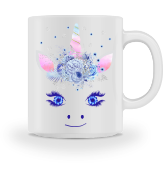 ♥ Cute Unicorn Flowers Magic Eyes 3
