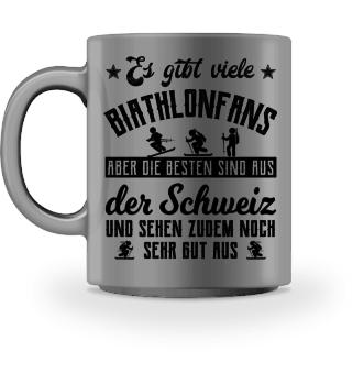 Biathlonfans - Schweiz Geschenk