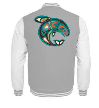 ★ Native American Totem Orca Whale 1