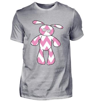 Voodoo Bunny Rabbit Pink Easter