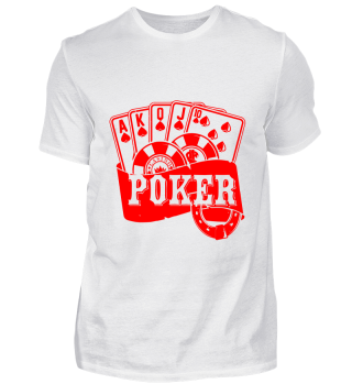 GIFT- POKER CARDS RED