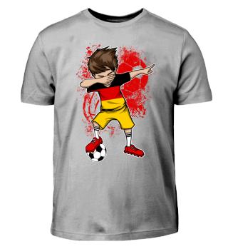 Deutschland Fußball Junge Dab Kinder