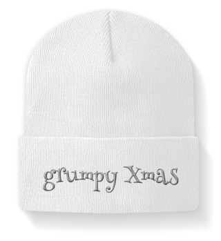grumpy xmas gift Weihnachtsmütze