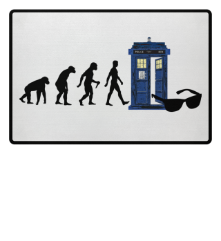 ★ Evolution Of Humans - Police Box 8a