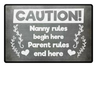 Nanny rules begin here - gift