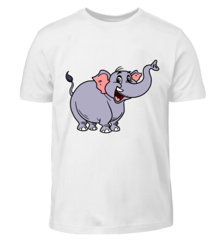 Lachender Elefant