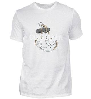 Cuxhaven anchor sea island harbor Wadden