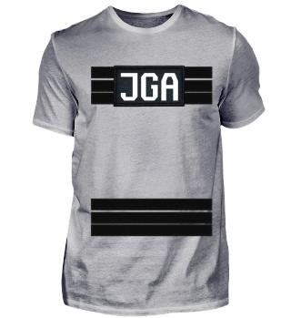 JGA Shirt im FBI Stil